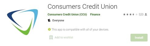 Consumer Credit Union App