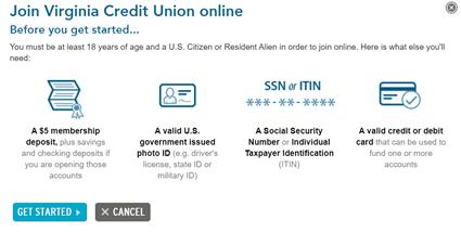 Virginia Credit Union Register