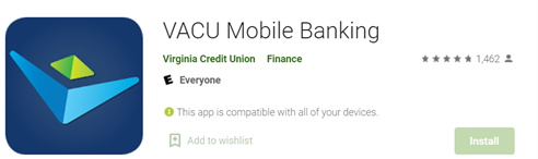 Virginia Credit Union App